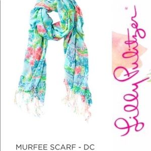 Lilly Pulitzer Washington DC Murfee Scarf